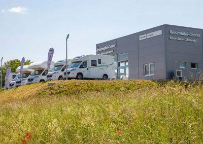 Aussenansicht Reisemobil-Center Rhein-Main-Odenwald