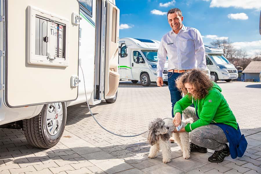 Waumobil Außendusche für Hunde und andere Vierbeiner