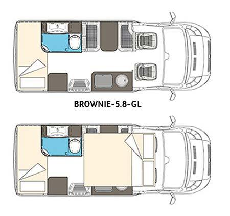 Wingamm Wohnmobil brownie 5.8 gl