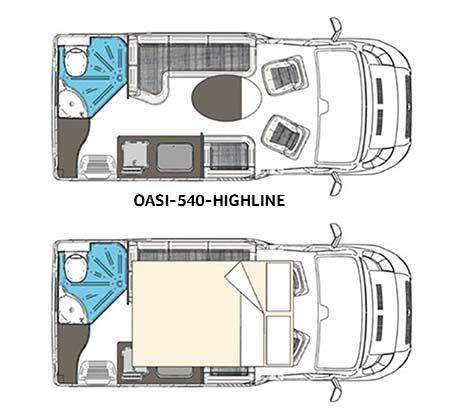 Wingamm Wohnmobil Oasi-540 Highline