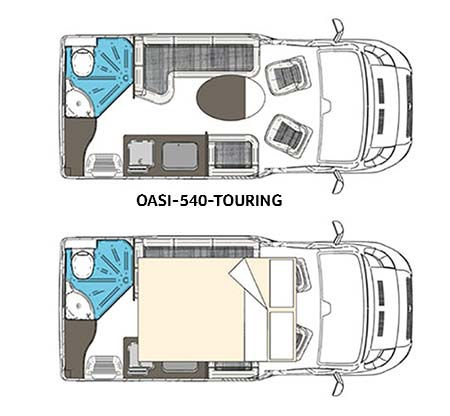 Wingamm Wohnmobil Oasi-540 Touring