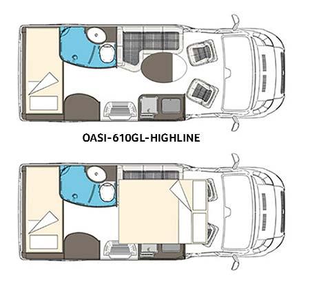 Wingamm Wohnmobil Oasi-610 GL Highline
