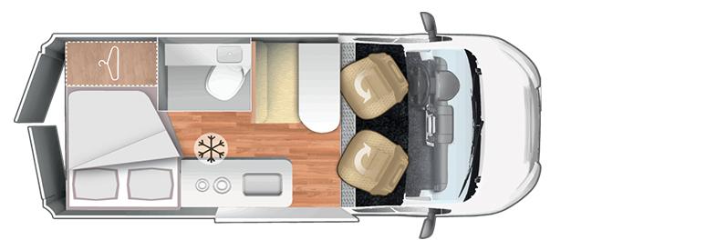 Forster Wohnmobil mieten FV 541HB