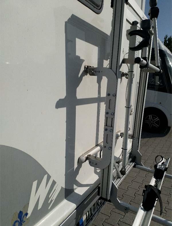 tecklift Fahrradträger. Perfekte Montage an original Befestigungspunkten