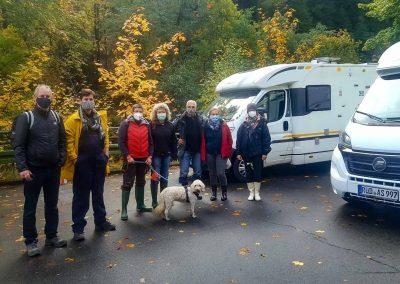 Wohnmobil für Klimaschutz Pflanzaktion im Harz
