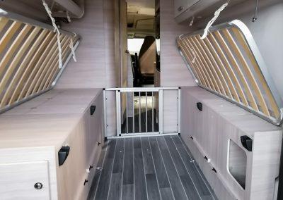 Wohnmobil Spezial-Umbau für Hunde
