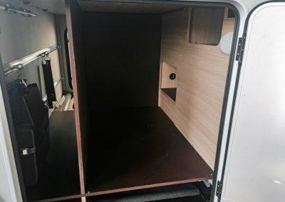 Knaus Wohnmobil Umbau mit Box für mehr Stauraum